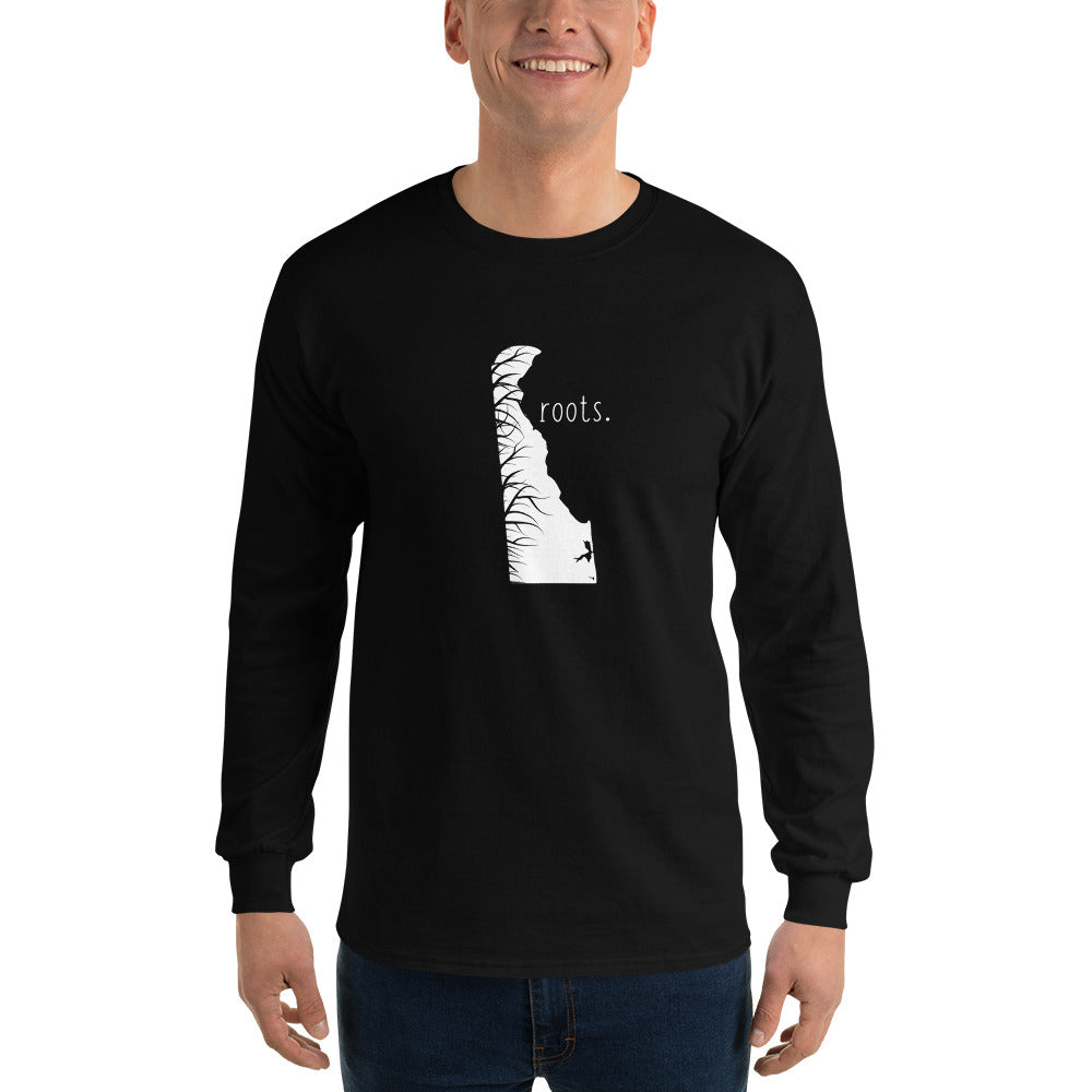 Delaware Roots Long Sleeve T-Shirt - OnlyInYourState Apparel
