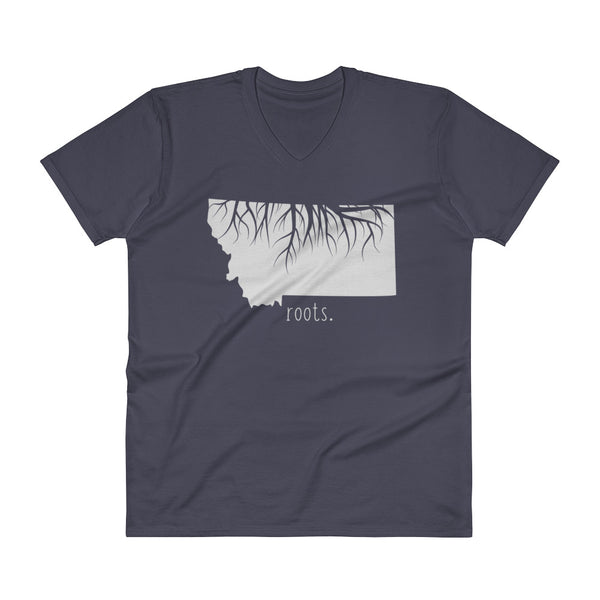 Montana Roots V-Neck T-Shirt