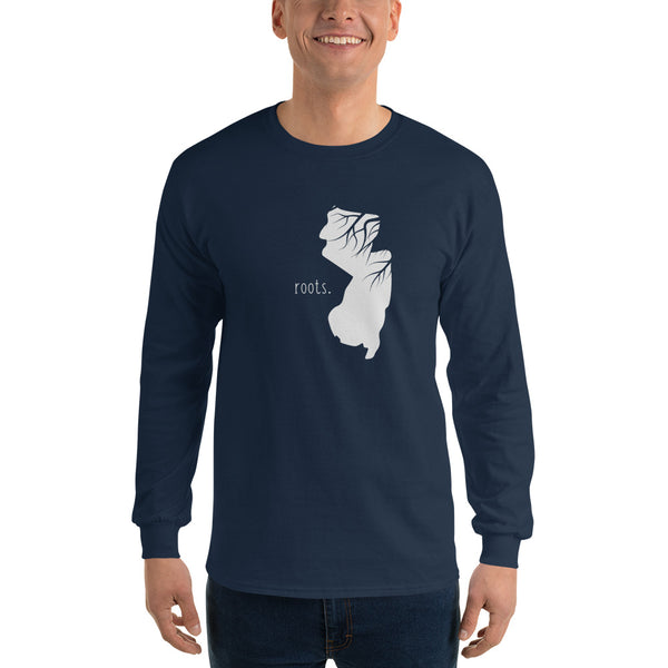 New Jersey Roots Long Sleeve T-Shirt - OnlyInYourState Apparel