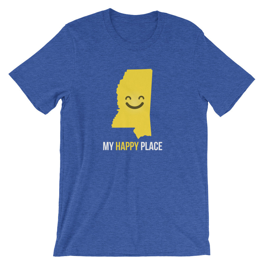 MS Is My Happy Place - OnlyInYourState Apparel