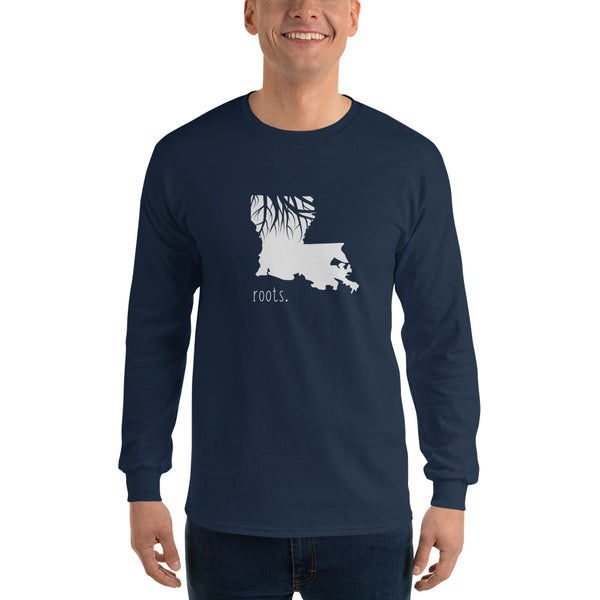 Louisiana Roots Long Sleeve T-Shirt - OnlyInYourState Apparel