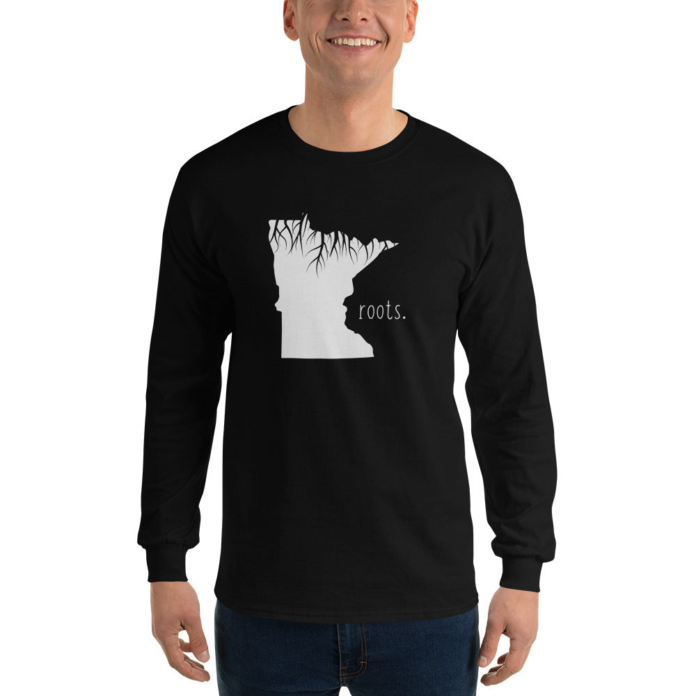 Minnesota Roots Long Sleeve T-Shirt - OnlyInYourState Apparel
