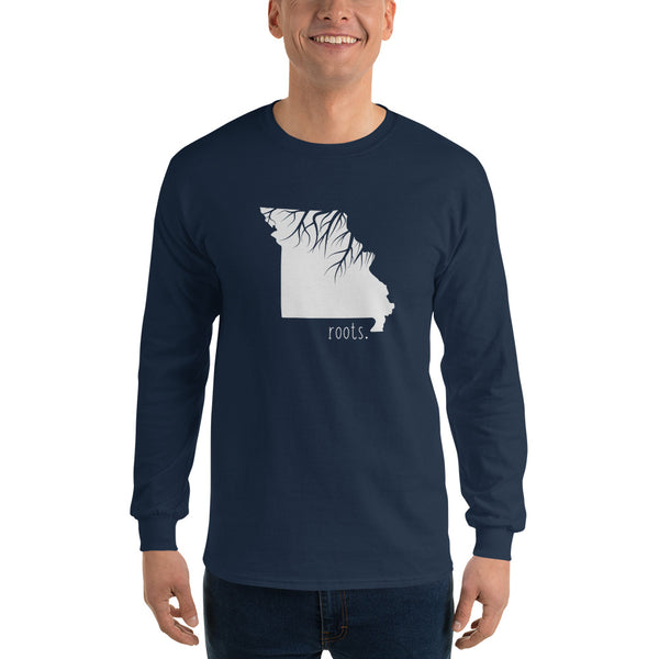 Missouri Roots Long Sleeve T-Shirt - OnlyInYourState Apparel