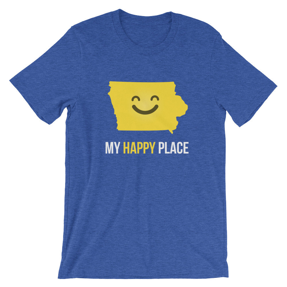 IA Is My Happy Place - OnlyInYourState Apparel