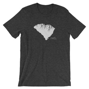 SALE! Dark Grey Heather South Carolina Roots, XX-Large - OnlyInYourState Apparel