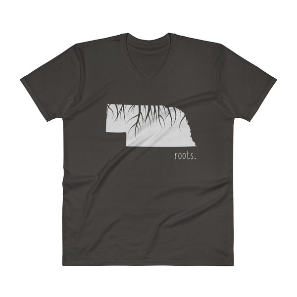 Nebraska Roots V-Neck T-Shirt