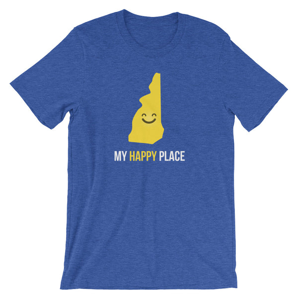 NH Is My Happy Place - OnlyInYourState Apparel