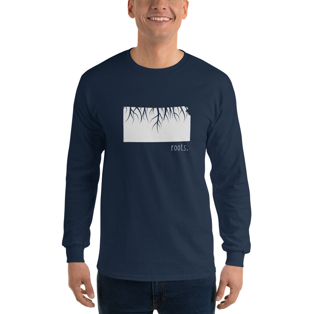 Kansas Roots Long Sleeve T-Shirt - OnlyInYourState Apparel