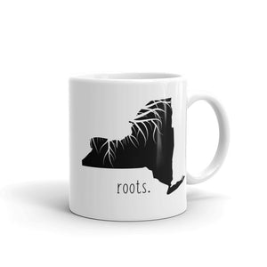 New York Roots Mug - OnlyInYourState Apparel
