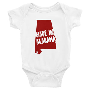 Made In Alabama Baby Onesie - OnlyInYourState Apparel