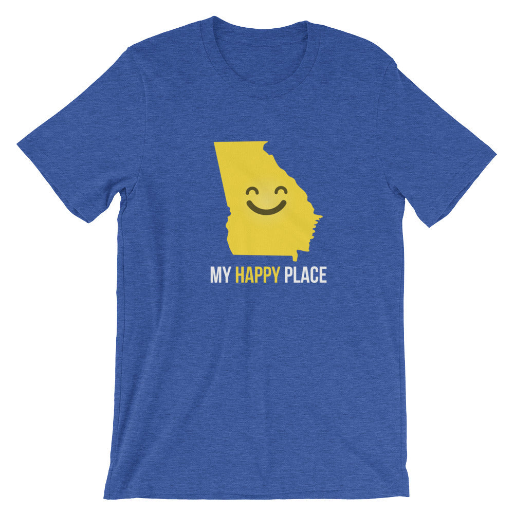 GA Is My Happy Place - OnlyInYourState Apparel