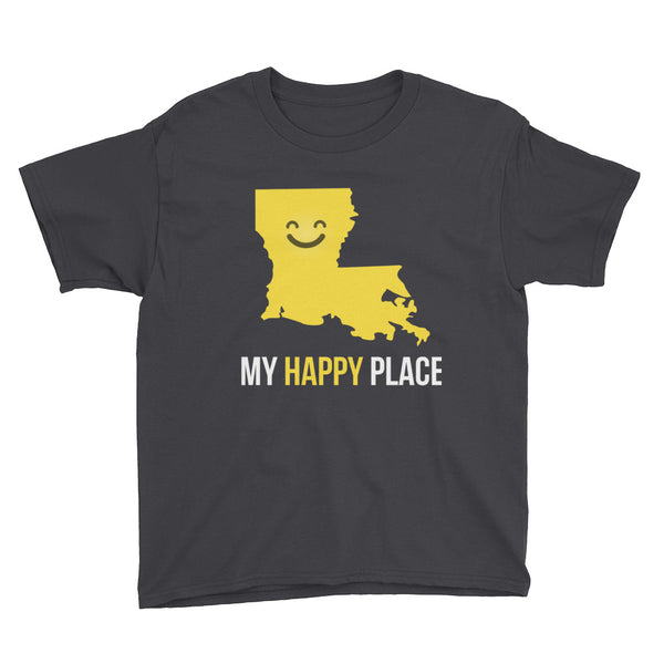 LA Is My Happy Place Kids Tee - OnlyInYourState Apparel
