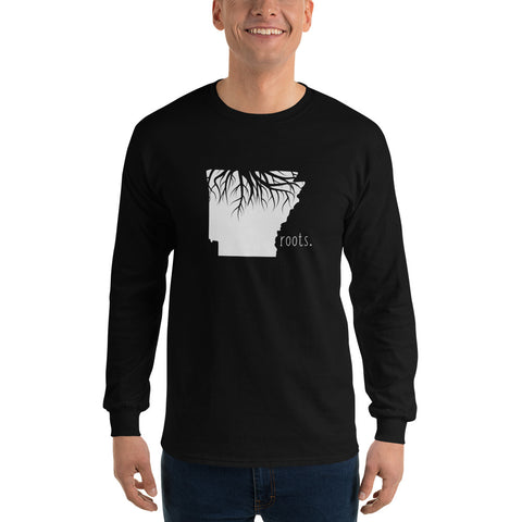 Arkansas Roots Long Sleeve T-Shirt - OnlyInYourState Apparel