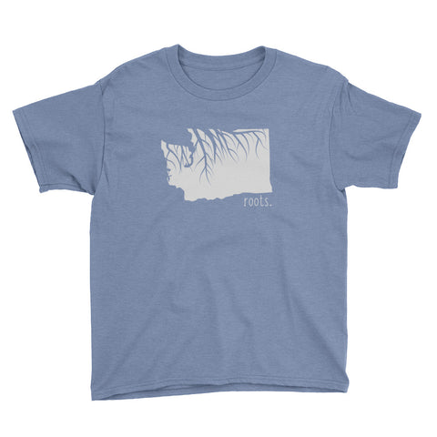 Washington Roots Kids Tee - OnlyInYourState Apparel
