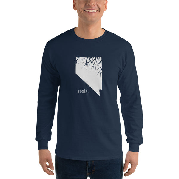 Nevada Roots Long Sleeve T-Shirt - OnlyInYourState Apparel