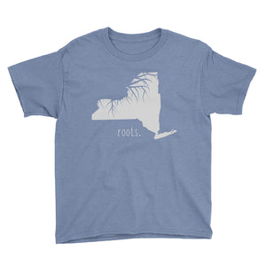 New York Roots Kids Tee - OnlyInYourState Apparel