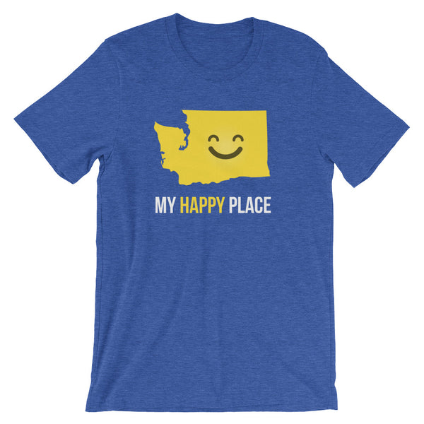 WA Is My Happy Place - OnlyInYourState Apparel