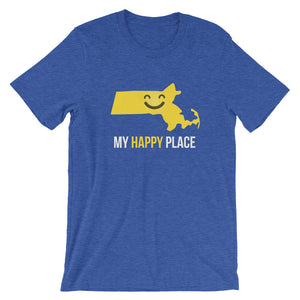 MA Is My Happy Place - OnlyInYourState Apparel