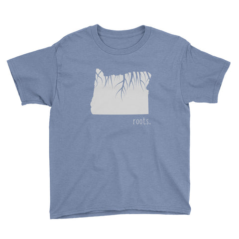 Oregon Roots Kids Tee - OnlyInYourState Apparel