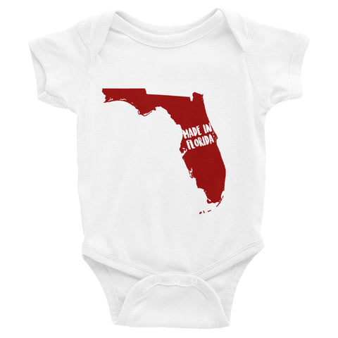 Made In Florida Onesie - OnlyInYourState Apparel