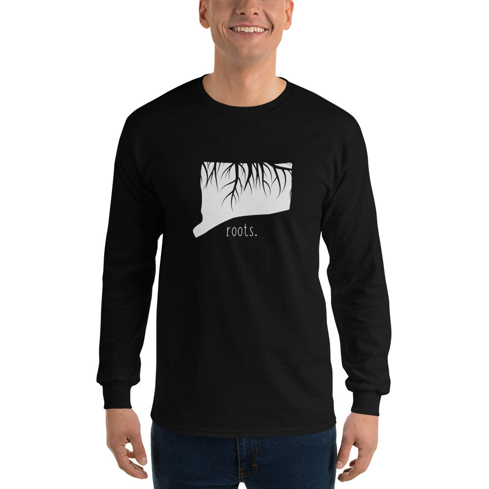 Connecticut Roots Long Sleeve T-Shirt - OnlyInYourState Apparel