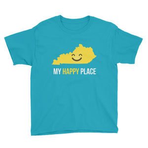 KY Is My Happy Place Kids Tee - OnlyInYourState Apparel