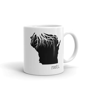 Wisconsin Roots Mug - OnlyInYourState Apparel