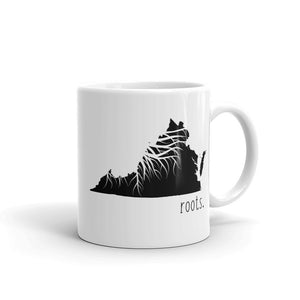 Virginia Roots Mug - OnlyInYourState Apparel