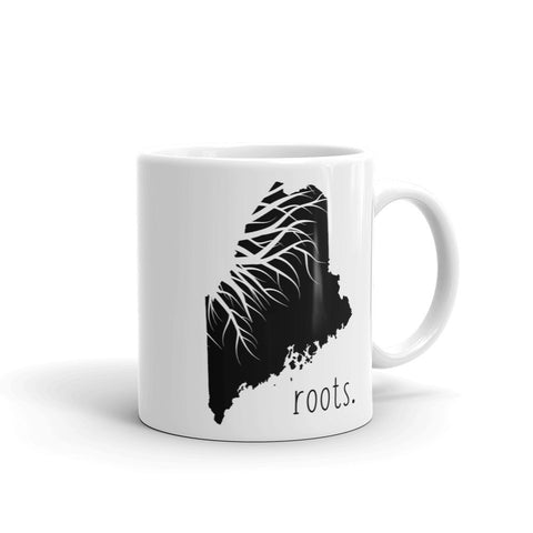Maine Roots Mug - OnlyInYourState Apparel