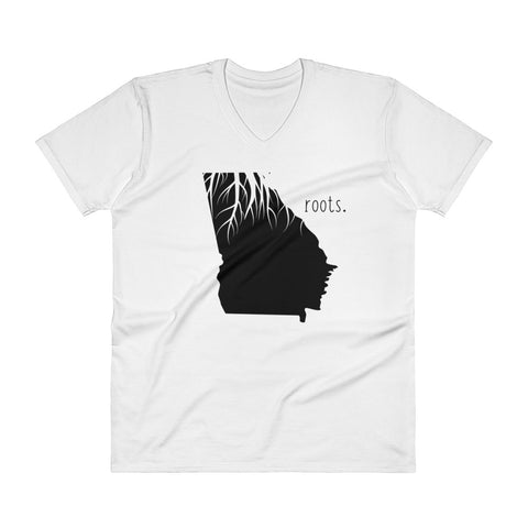 Georgia Roots V-Neck T-Shirt