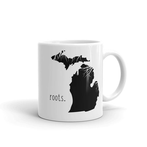 Michigan Roots Mug - OnlyInYourState Apparel