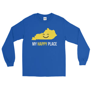 KY Is My Happy Place Long Sleeve - OnlyInYourState Apparel