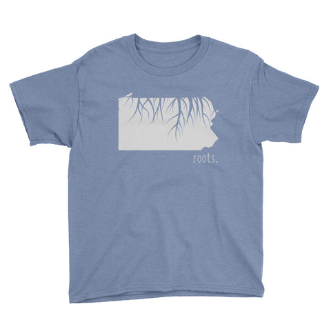 Pennsylvania Roots Kids Tee - OnlyInYourState Apparel