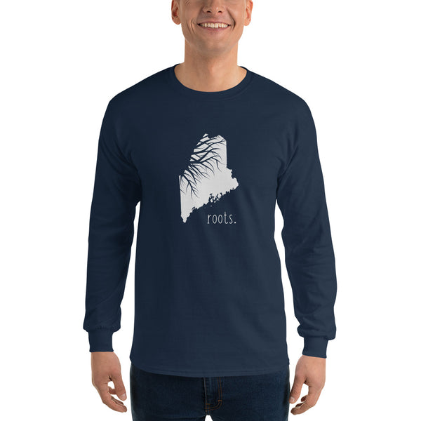 Maine Roots Long Sleeve T-Shirt - OnlyInYourState Apparel