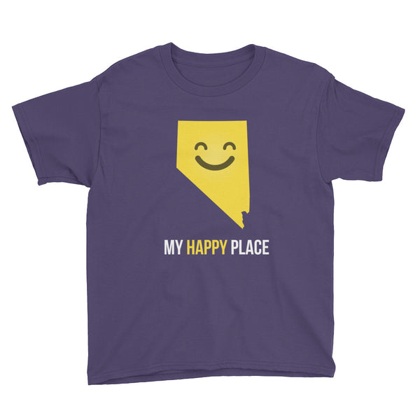 NV Is My Happy Place Kids Tee - OnlyInYourState Apparel