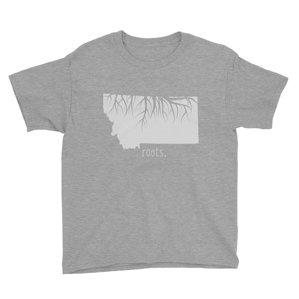 Montana Roots Kids Tee - OnlyInYourState Apparel