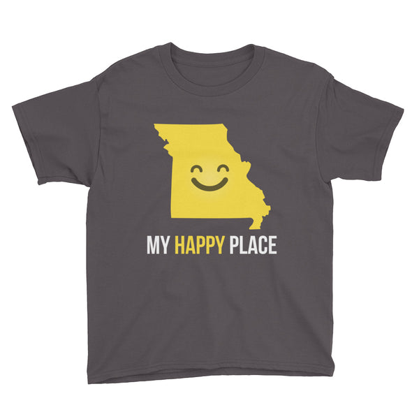 MO Is My Happy Place Kids Tee