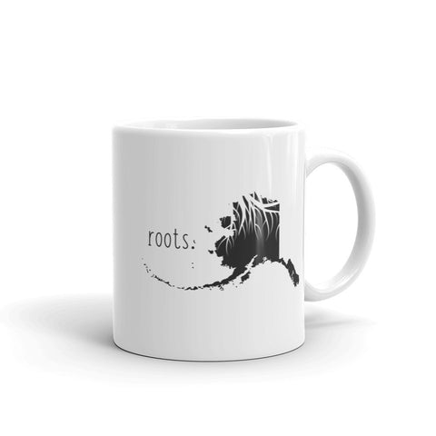 Alaska Roots Mug - OnlyInYourState Apparel