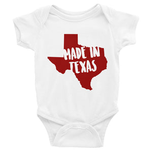 Made In Texas Onesie - OnlyInYourState Apparel