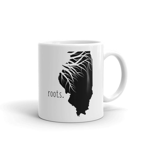 Illinois Roots Mug - OnlyInYourState Apparel