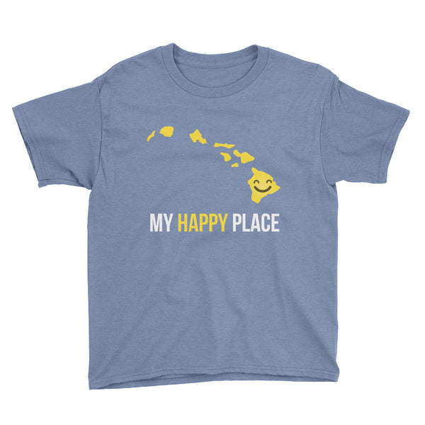 HI Is My Happy Place Kids Tee