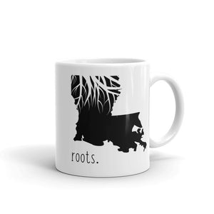 Louisiana Roots Mug - OnlyInYourState Apparel