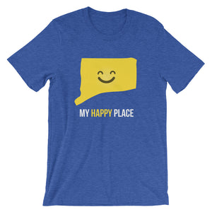 CT Is My Happy Place - OnlyInYourState Apparel