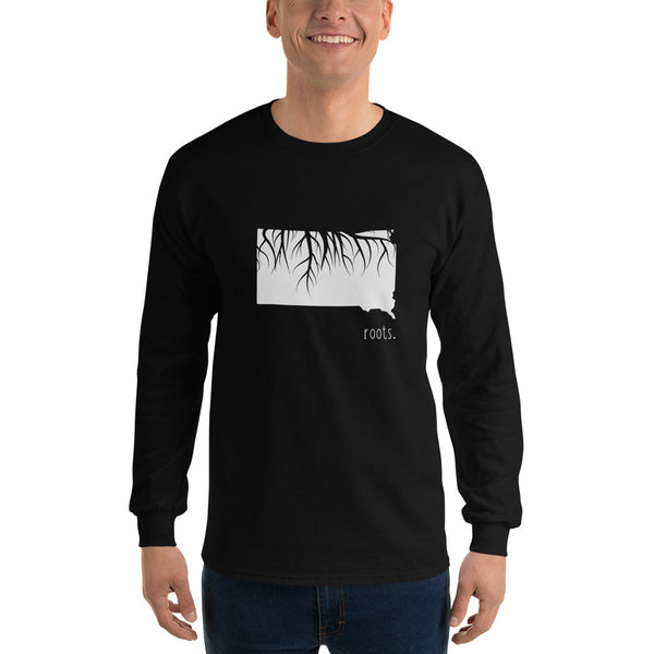 South Dakota Roots Long Sleeve T-Shirt - OnlyInYourState Apparel