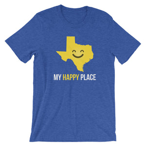 TX Is My Happy Place - OnlyInYourState Apparel