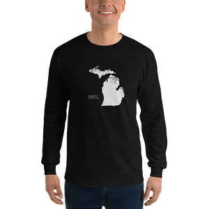 Michigan Roots Long Sleeve T-Shirt - OnlyInYourState Apparel