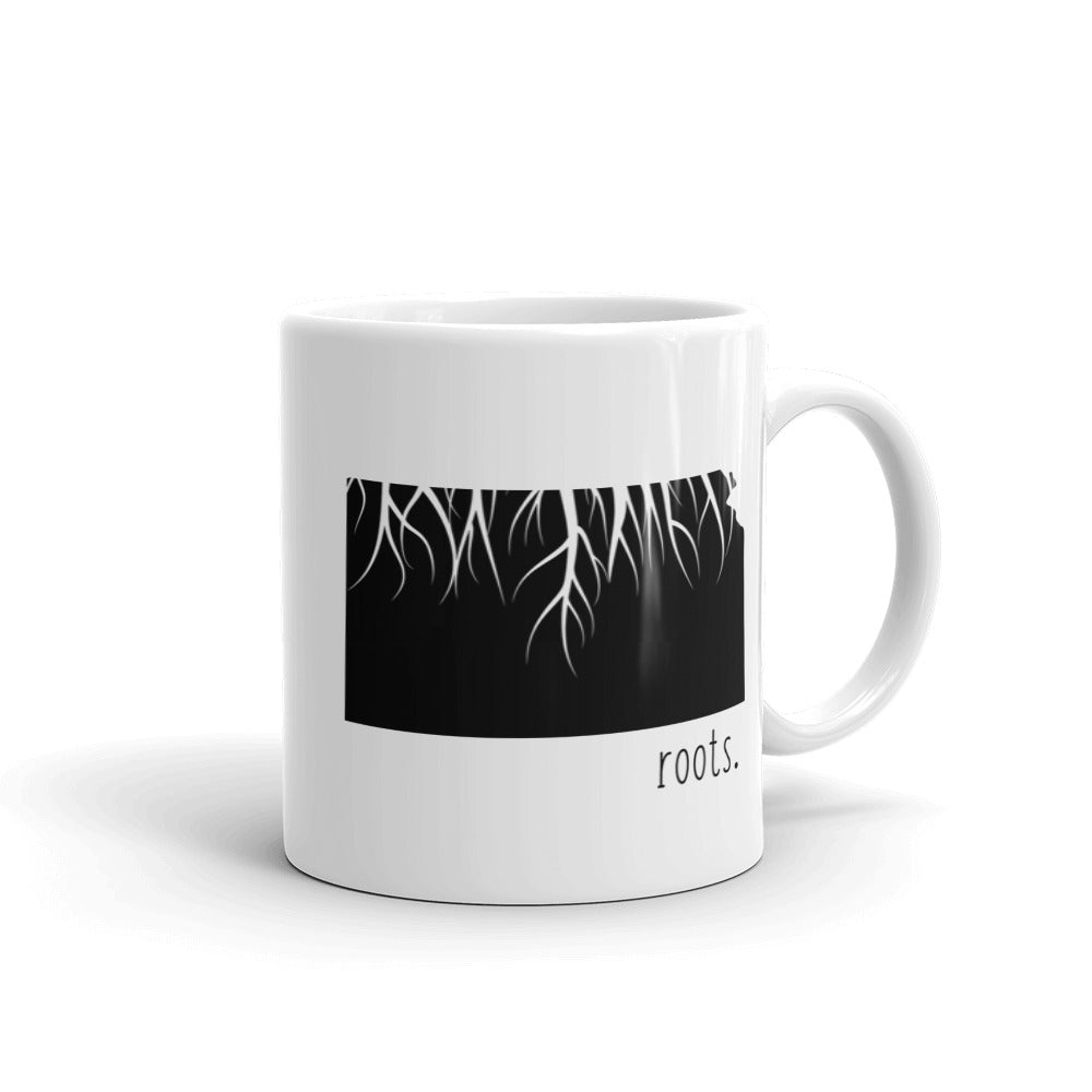 Kansas Roots Mug - OnlyInYourState Apparel