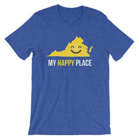 VA Is My Happy Place - OnlyInYourState Apparel