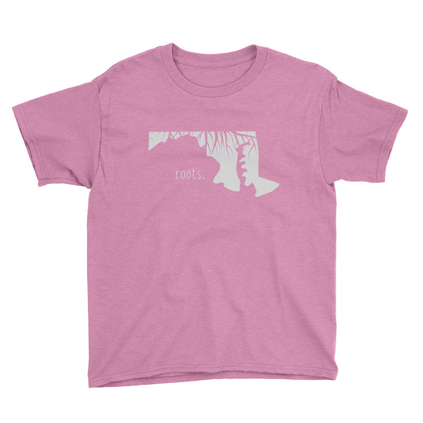Maryland Roots Kids Tee - OnlyInYourState Apparel