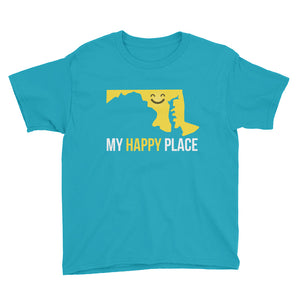 MD Is My Happy Place Kids Tee - OnlyInYourState Apparel